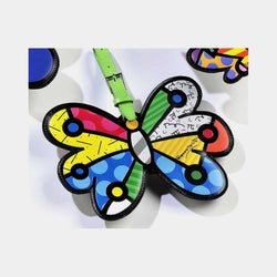 Britto Luggage Tag Butterfly - Designer Studio