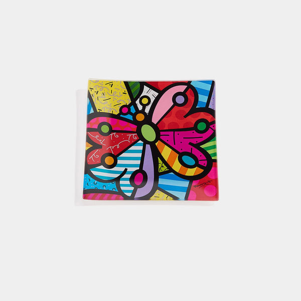 Britto Glass Plate (B) - Designer Studio