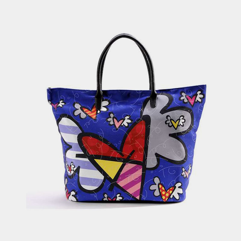 Britto Flying Heart Tote Bag - Designer Studio