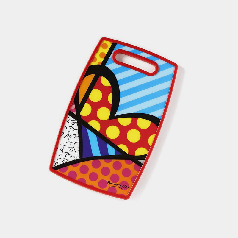 Britto Cutting Board Heart - Designer Studio