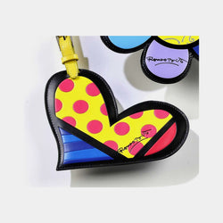 Britto Luggage Tag Heart - Designer Studio