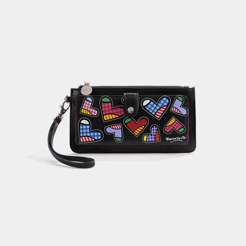 Britto Hearts Wallet - Designer Studio