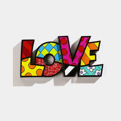 Britto LOVE Wall/Table Decor - Designer Studio