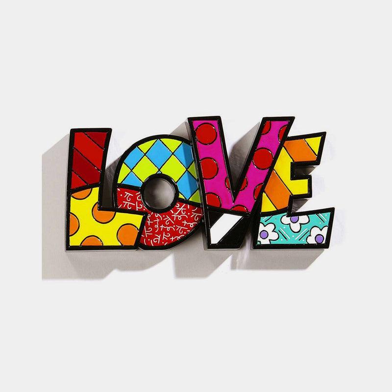 Britto Word LOVE - Designer Studio