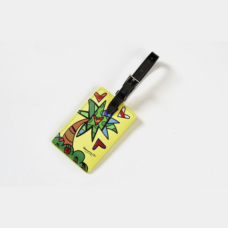 Britto Luggage Tag Palm Tree - Designer Studio