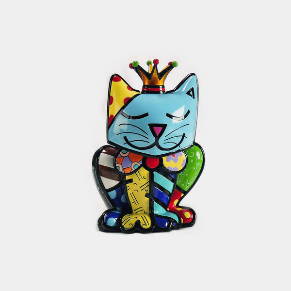 Britto Royalty Cat - Designer Studio