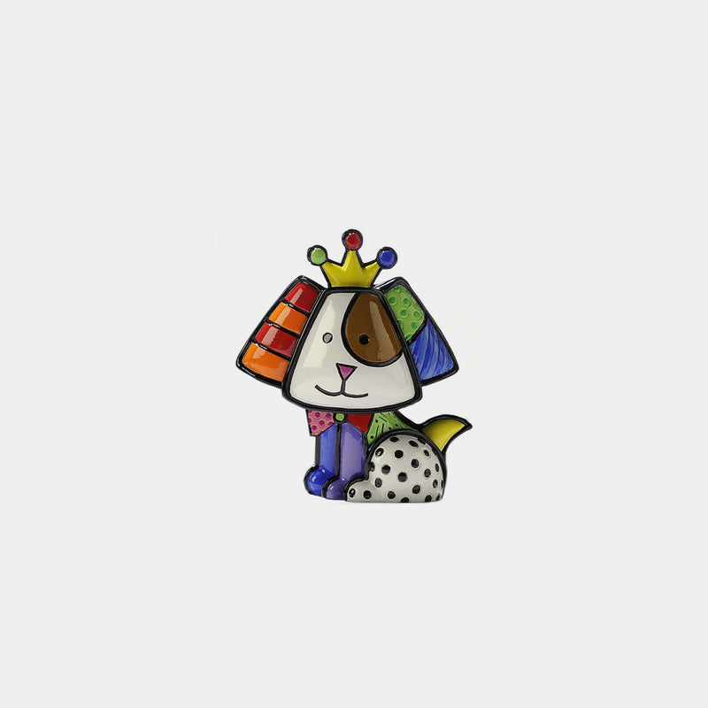 Britto Mini Royalty Dog - Designer Studio