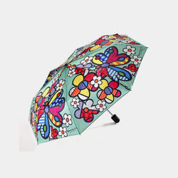 Britto Umbrella Butterfly Flowers - Designer Studio