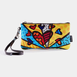 Britto Wristlet Clutch (A New Day) - Designer Studio