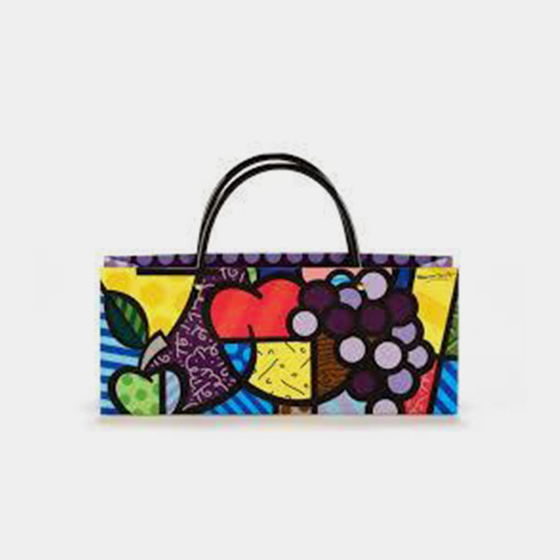 Britto Paper Wine Bag- Fruit - Designer Studio