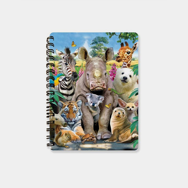 Class Photo 3D Cover A6 Diary - Designer Studio