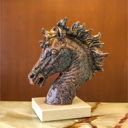 Copper Spirited Horse - Designer Studio