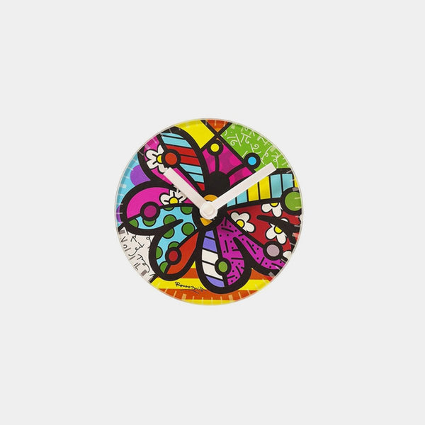 Britto Butterfly Table Clock - Designer Studio