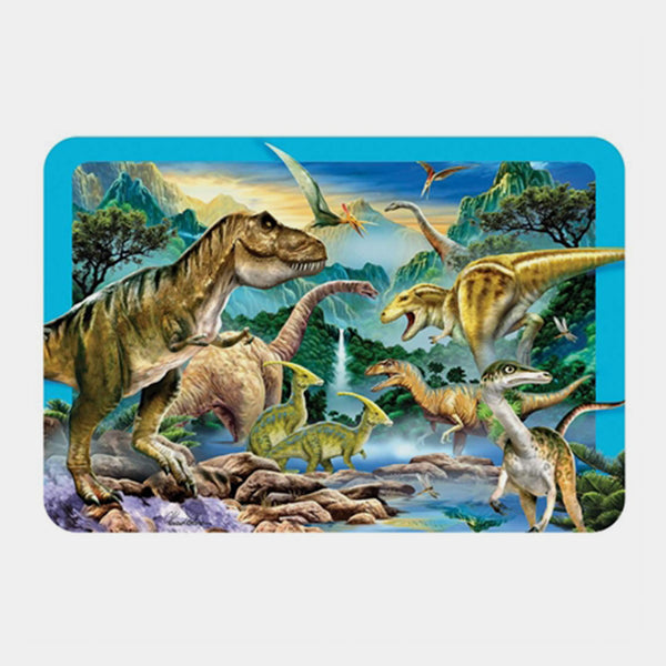 Dinosaur Valley 3D Placemat - Designer Studio