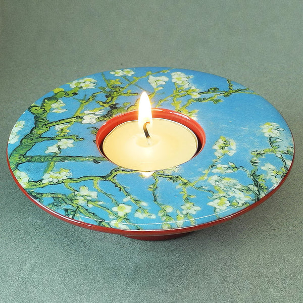 Van Gogh Almond Blossom Dish T-Light