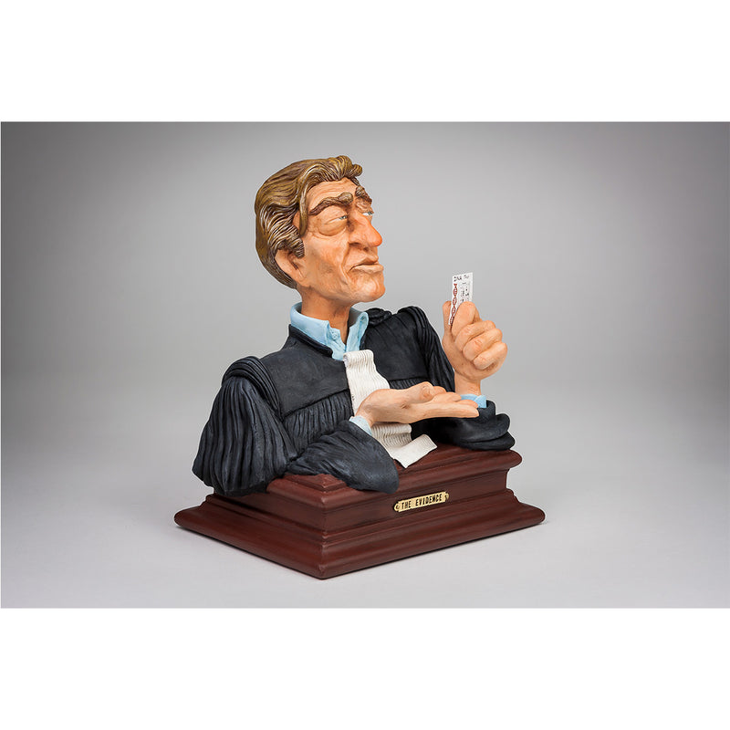 """THE EVIDENCE"" (Lawyer bust) - Designer Studio"
