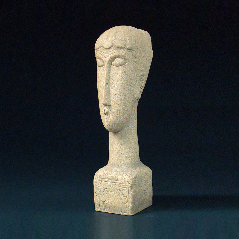 Modigliani Head Inscript - Designer Studio