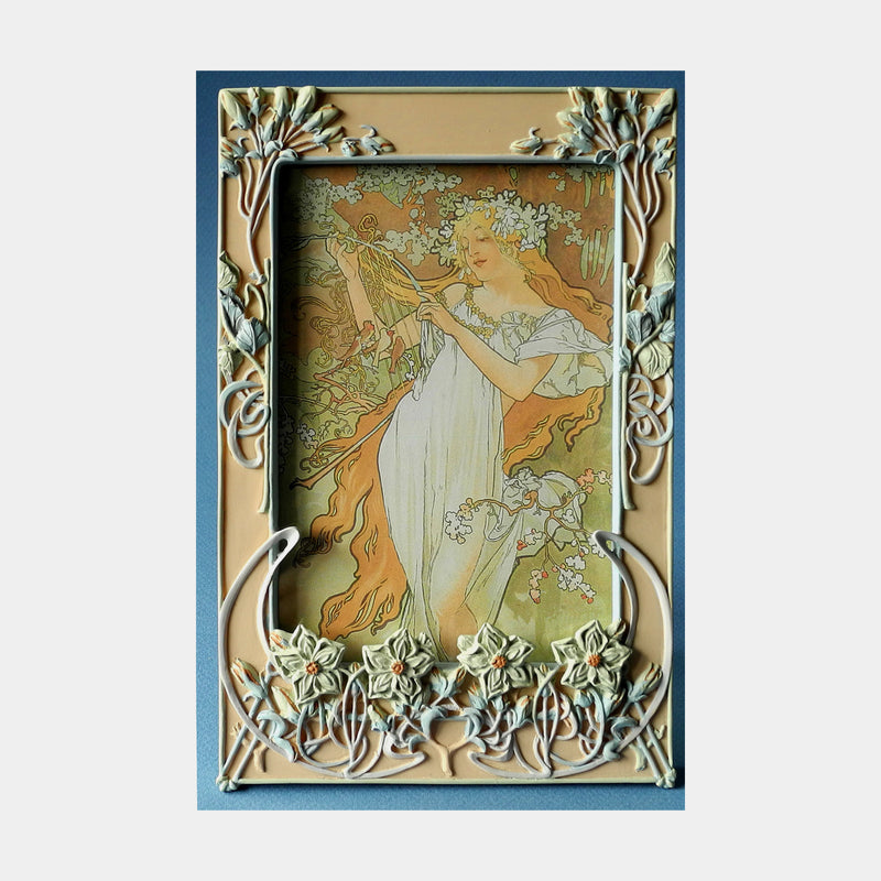 Mucha Photo Frame (Spring) - Designer Studio