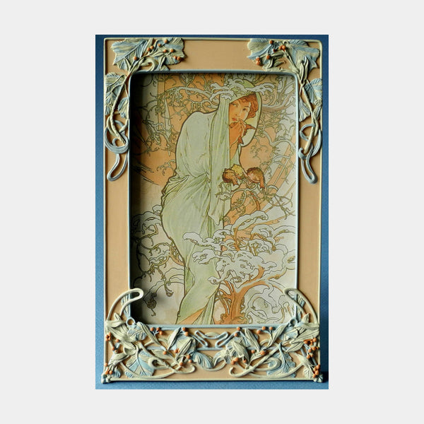 Mucha Photo Frame (Winter) - Designer Studio