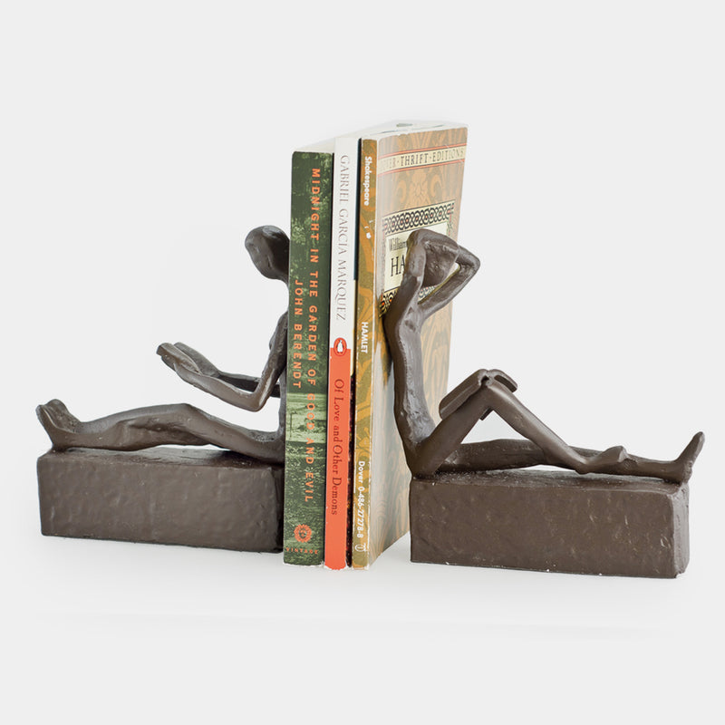 Reading Bookend Set - Designer Studio