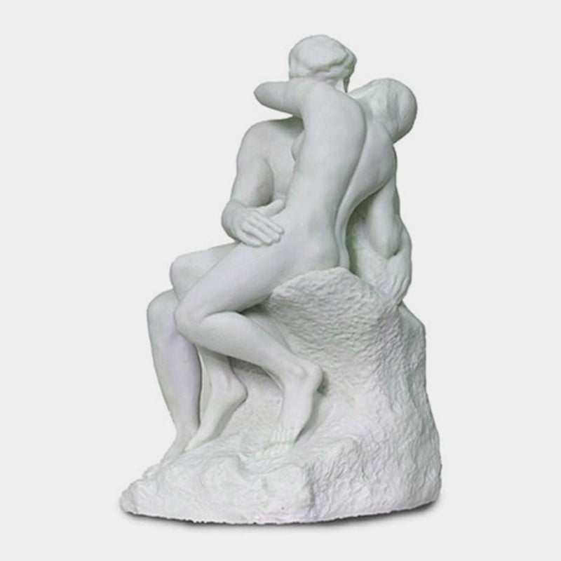 Rodin The Kiss White - Designer Studio
