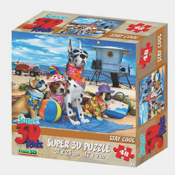 Stay Cool 3D Puzzle