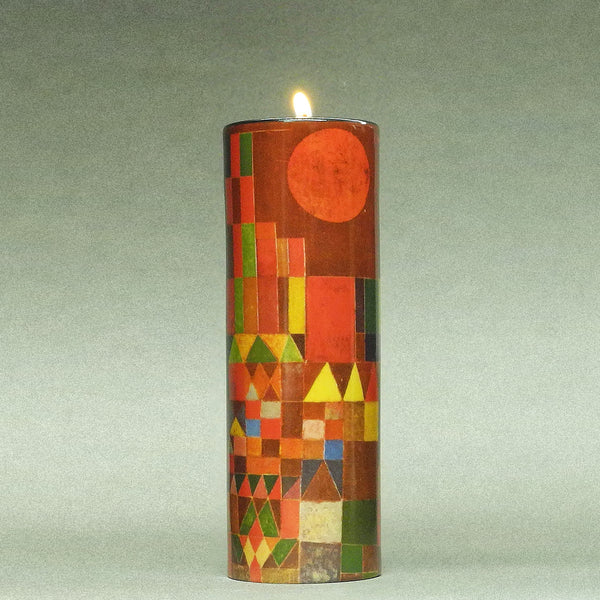 Paul Klee Ceramic Candle T-light - Designer Studio