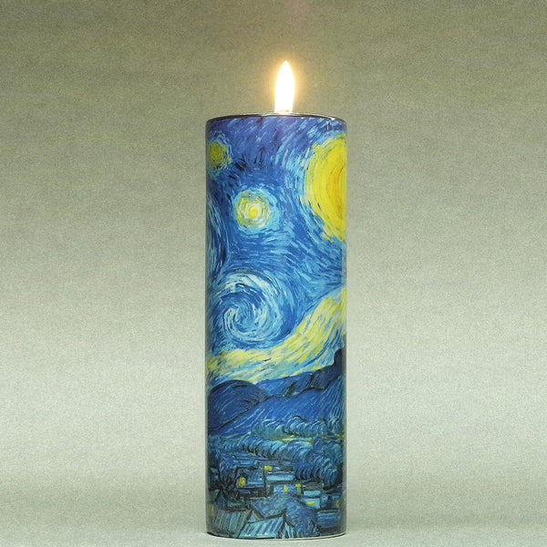 Van Gogh The Starry Night Ceramic Candle T-light - Designer Studio