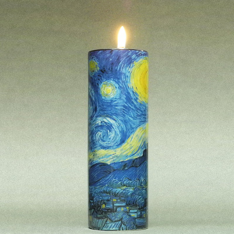 Van Gogh The Starry Night Ceramic Candle T-light