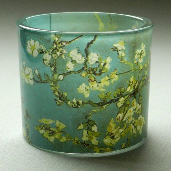 Van Gogh Almond Blossom Glass T-Light