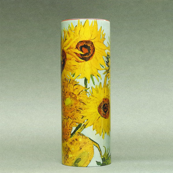 Van Gogh Sunflower Ceramic Vase