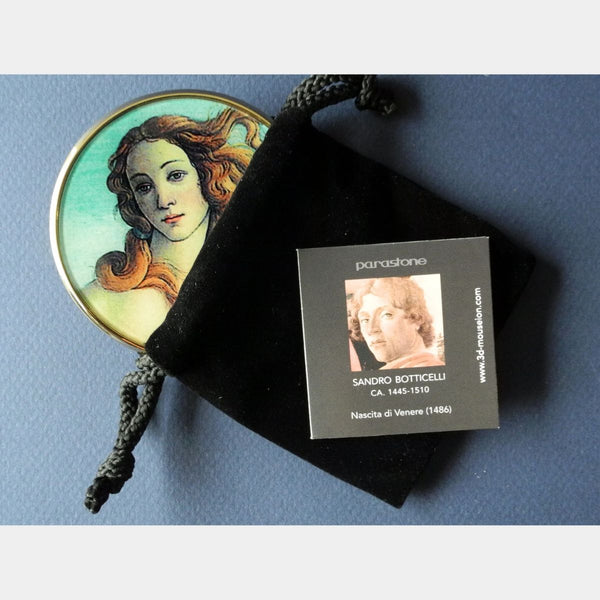 Van Gogh Starry Night Pocket Mirror - Designer Studio