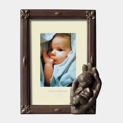 Photo Frame Birth (Bronze) - Designer Studio
