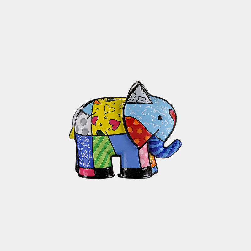 Britto Mini Elephant - Designer Studio