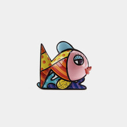 Britto 3D Pink Fish Mini Figurine - Designer Studio