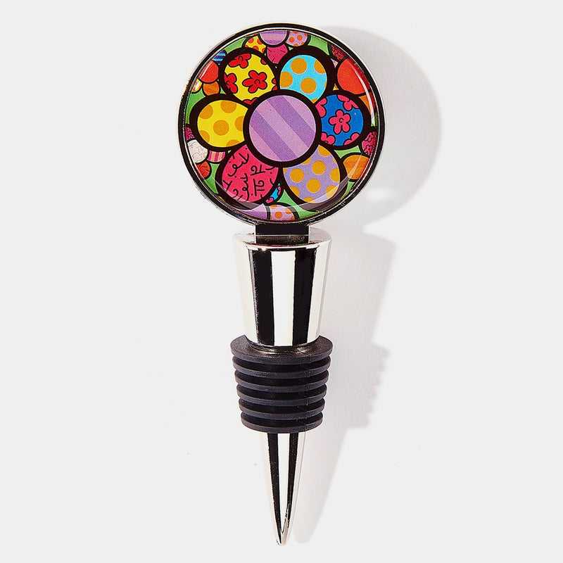 Britto Flower Bottle Topper - Designer Studio