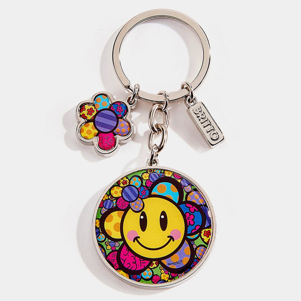 Britto Emoji Key chain (F) - Designer Studio