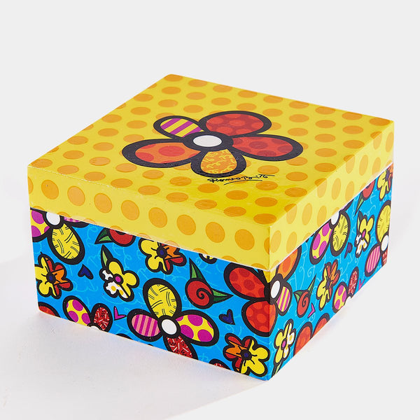 Britto Flower Keepsake Box - Designer Studio