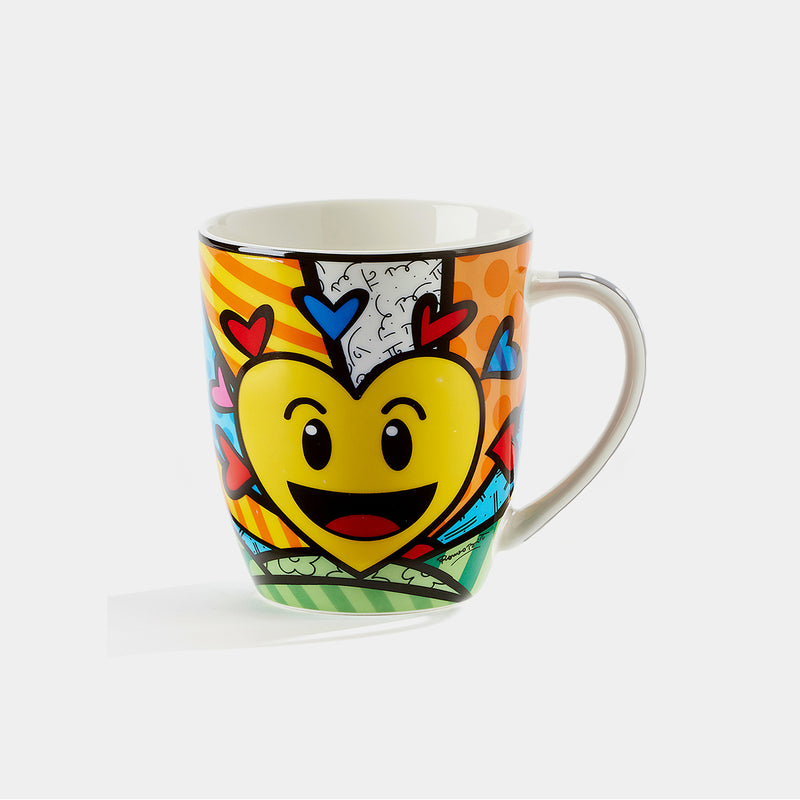 Britto Heart Emotion Mug - Designer Studio