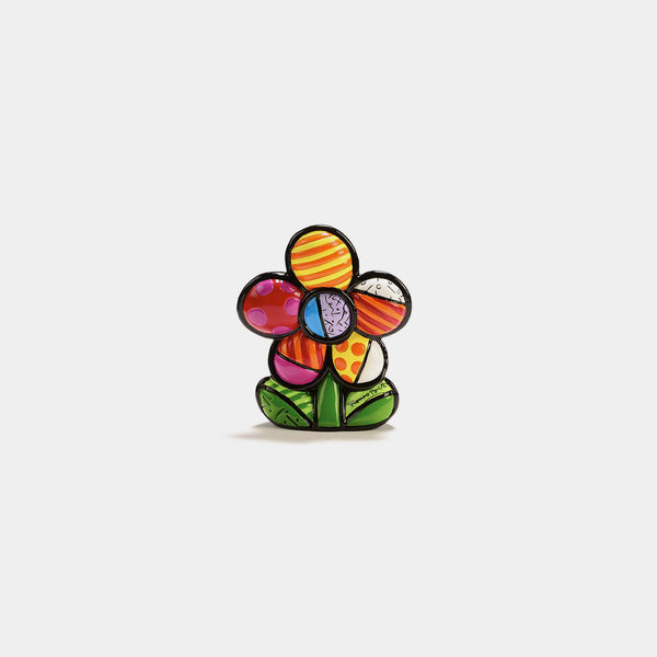 Britto Mini Flower Figurine - Designer Studio