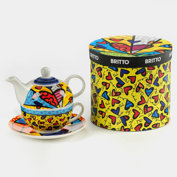 Britto Tea-For-One Set - Designer Studio