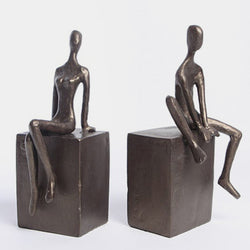 The Couple Bookend Set