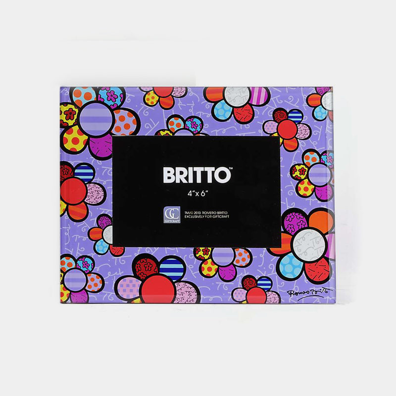 Glass Frame-Flowers Britto - Designer Studio