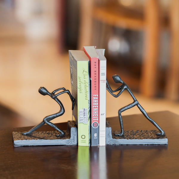 Teamwork Bookend Set