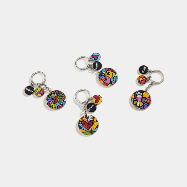 Britto Alloy Keychain (single piece) - Designer Studio
