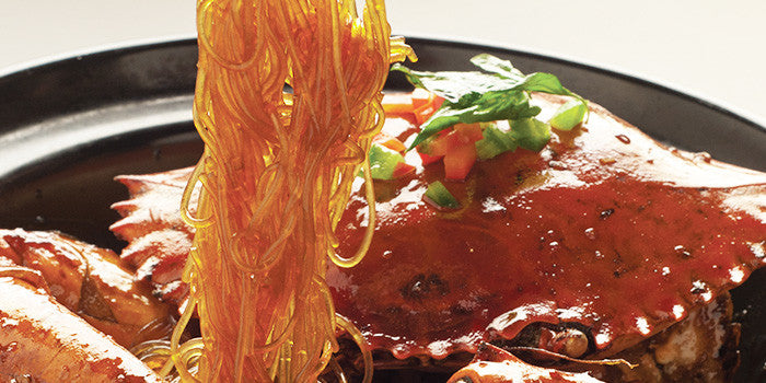 Crab with Glass Noodles