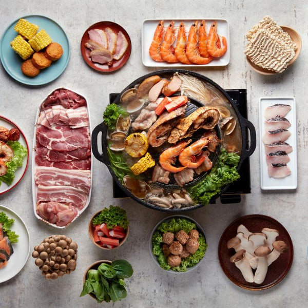 Mookata Platter by Four Points Eatery | Get Up To 50% Off With ChopeDeals