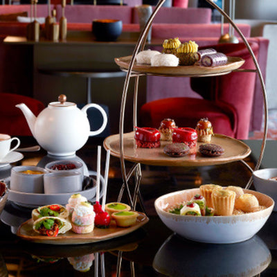 Afternoon Tea for 2 Pax by MO BAR - Chope