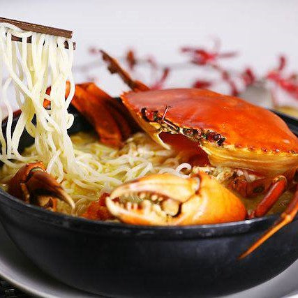 Claypot Crab Thick Bee Hoon Soup