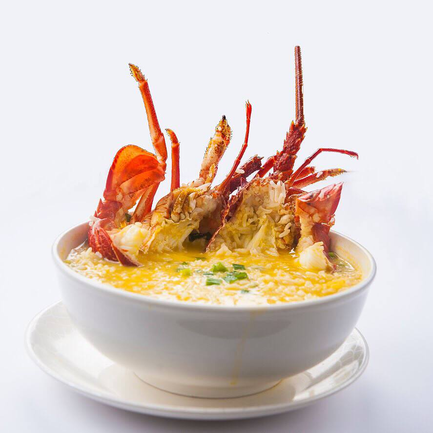 Signature Lobster Porridge ($29.90++)